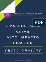 7 Passos Para Cursos Online de Alto Impacto ACO