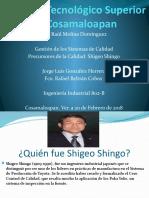 Shigeo Shingo Calidad Exposición