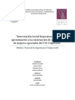 Intervención Social Reparatoria