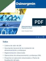 Almacenamiento y Embarque de GNL, Proyectos en el país - JHuaytan.pptx