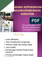 Dra. Junaiti Sahar Phd - Asuhan Keperawatan Kegawatdaruratan Geriatrik