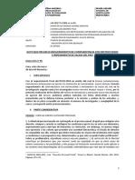 Exp. 00046-2017- Resolución Que Resuelve El Pedido de Comparecencia Simple e Impedimento de Salida en El Caso Del Club de La Construcción