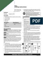 US600A B Manual