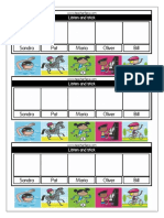 Year 2 Worksheets