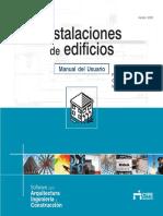 Instalaciones de Edificios - Manual Del Usuario_cype