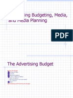 Advertising Budget Methods