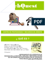 Tutorial WEBQUEST