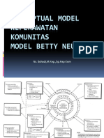 Konseptual Model Keperawatan Komunitasmodel Betty Neuman