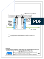 001 - Amf - w116 - Encontro Forro Removível Amf Com Parede Drywall Knauf Com 2 Chapas Em Cada Face