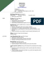 danielle jackson resume 2