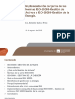 Gestion de Energia y de Activos Implementacion Conjunta