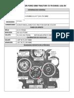 FORD 5000 3.8L 8V