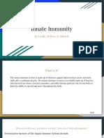 innate immunity presentation