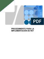 Procedimiento Para La Implementación y Configuracion de RET
