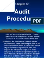 Chapter 12 Audit Procedures
