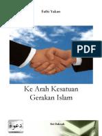 Fathi Yakan - Ke Arah Kesatuan Gerakan Islam.pdf