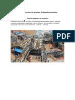 Automatizacion en Plantas de Beneficio Minera