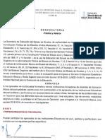 CONVOCATORIA INGRESO SEP MORELOS 18-19