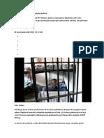 Análisis de La Situación Carcelaria Del Perú