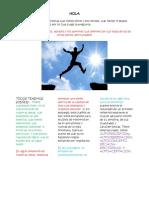 Autoconocimiento y Desarrollo perosnal Con Herramientas de Pnl