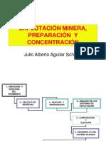 Libro Explotación Minera, Preparación y Concentración - Julio Alberto Aguilar Schafer.