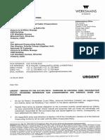 Let to DPCI & NPA (Acknowledgement of Receipt) - 12 03 2018