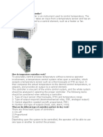 What is a Temperature Controller