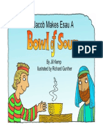 Jacob Makes Esau a Bowl of Soup Big Book Cover Col