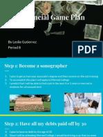 leslie gutierrez - my financial game plan