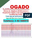 Cartel Abogado Miraflores - Tamaño Carta