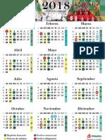 Calendario de Pago 2018