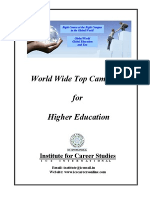 World Wide Top Campuses for Higher Education | New South