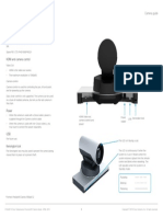 Cisco TelePresence PrecisionHD 1080p-720p Camera Guide