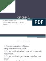 Oficina 2 - E-mail