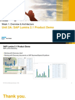 OpenSAP Lum1 Week 1 Unit 2A Product Demo Presentation(1)