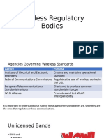 S3L6 Regulatory Bodies for Wireless