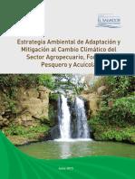 Estrategia de Cambio Climatico Del Sector Agropecuario