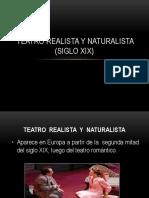 Teatro Realista y Naturalista