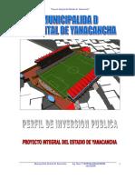 Perfil Estadio Yanacancha