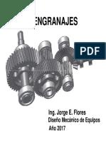 Engranajes - Elementos de maquina