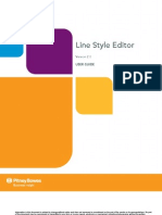 Line Style Editor User Guide