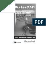 WaterCAD Spanish User Guide