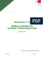 13 Modelo Efqm de Excelencia y Calidad