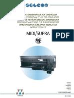 SELCOM - Instrucciones Del Controlador MIDI-SUPRA