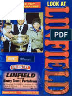 Vol 31 - Linfield v Newry Town 22.12.01