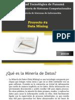 34277912 Proyecto 2 Data Mining