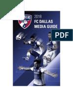 2018 FC Dallas Media Guide