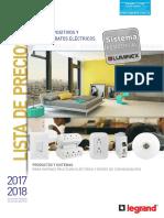 Lista de Precios Dispositivos y Aparatos Electricos 2017 2018