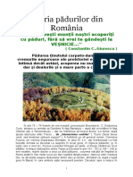 Istoria padurilor din Romania.doc