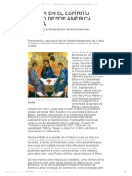 Creo en El Espíritu Santo - Pneumatología Narrativa _ Reseña Libro Victor Codina - Site Teologicamente